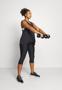 Under Armour - KNOCKOUT TANK - Sports shirt - black