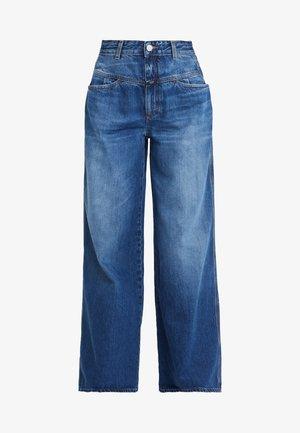 WIDE  - Jeans a zampa - blue denim