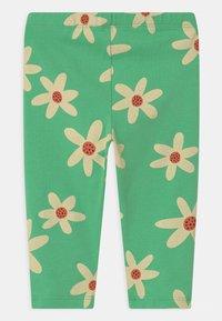 Lindex - FLOWER - Leggings - Trousers - green - 1