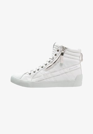 D-STRING PLUS - Sneakersy wysokie - white
