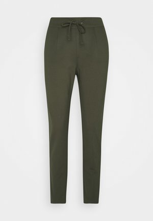 JDYPRETTY NEW PANT - Trousers - forest night