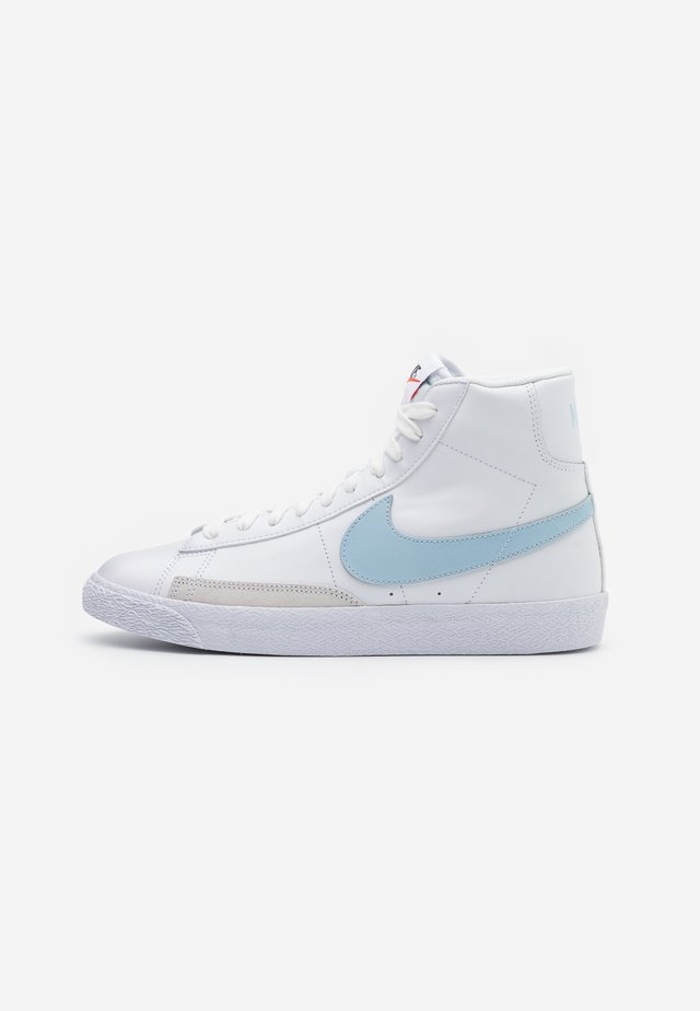 BLAZER MID - Zapatillas altas - white/celestine blue