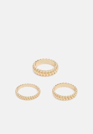 ACARDOTLAN 3 PACK - Ringar - gold-coloured