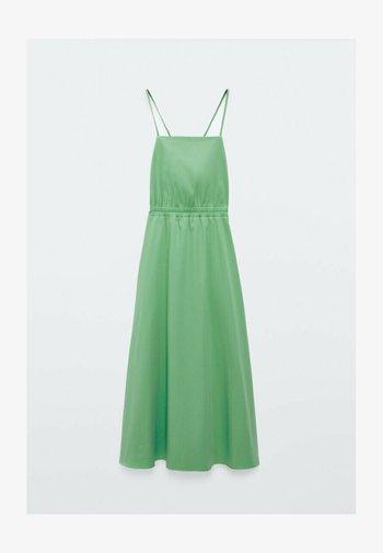 MIT TRÄGERN - Day dress - green