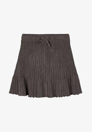 A-line skirt - plum kitten