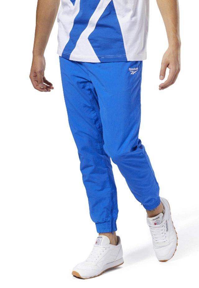VECTOR  - Tracksuit bottoms - blue