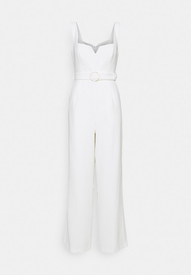 ROMAN SWEETHEART NECKLINE - Overall / Jumpsuit - porcelain