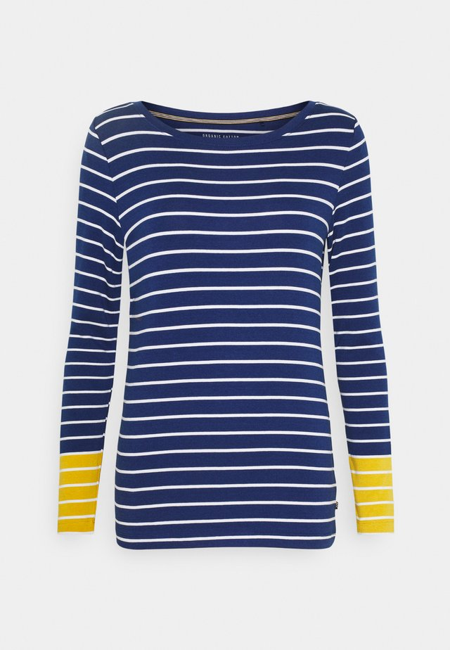 STRIPE TEE - Langærmede T-shirts - dark blue