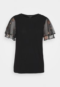 Dorothy Perkins - DOBY - T-shirt med print - black - 0