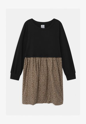 GIRLS LEOPARD - Robe d'été - moonless night