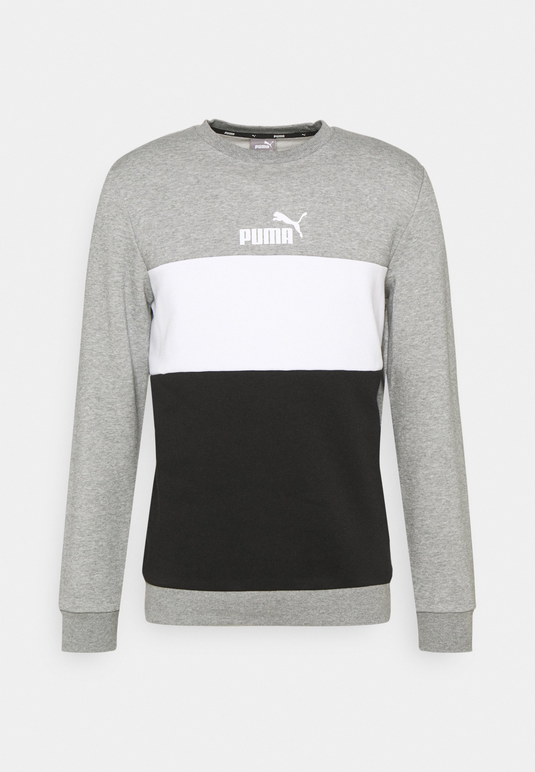Homme ESS+ COLORBLOCK CREW - Sweatshirt