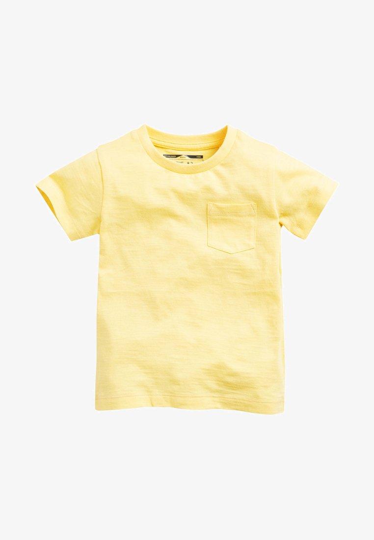 Next - SHORT SLEEVE - Camiseta básica - yellow