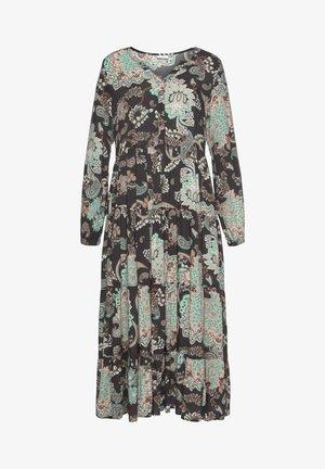 Day dress - schwarz/mint/bedruckt