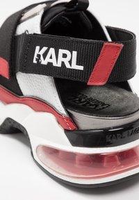 KARL LAGERFELD - SHUTTLE SLINGBACK - Tenisky - white - 2