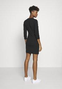 adidas Originals - 3STRIPES 3/4 SLEEVE DRESS - Vestido ligero - black - 2