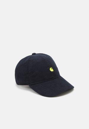 HARLEM UNISEX  - Cap - dark navy/limoncello