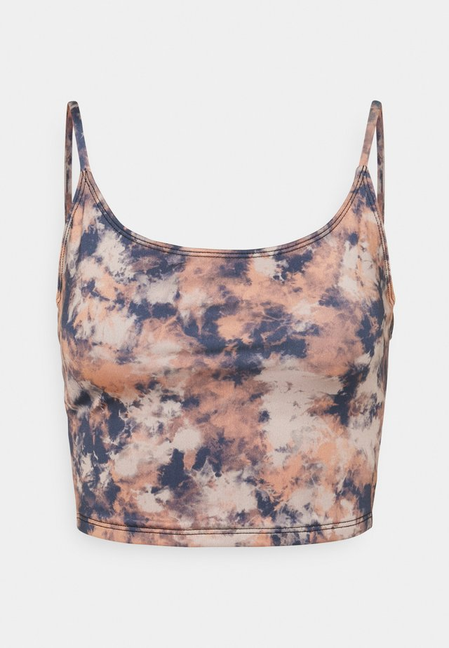BELLE CAMI CROP - Topper - earth