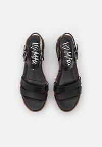 mtng - CURIE - Sandały na platformie - black - 3
