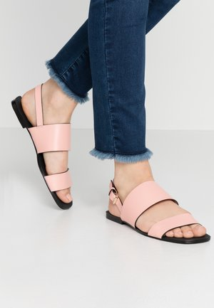 LEATHER - Sandalias - rose