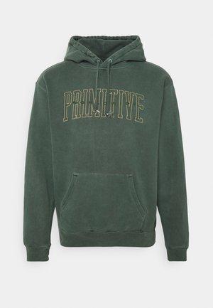 COLLEGIATE WORLDWIDE PYGMENT DYED HOOD - Sweatshirt - green