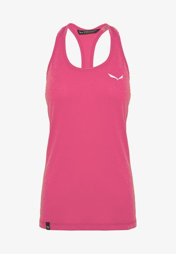 AGNER HYBRID DRI TANK - T-shirt sportiva - virtual pink