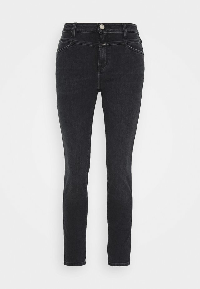PUSHER - Jeans Skinny - dark grey