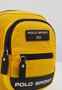 Polo Ralph Lauren - CROSSBODY - Across body bag - yellow - 2