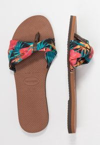 Havaianas - YOU TROPEZ - Pool shoes - brown  multicolored - 4