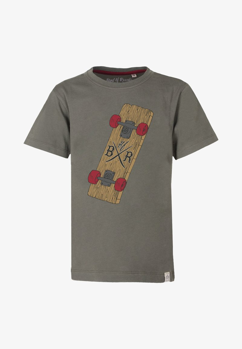 Band of Rascals - Print T-shirt - olive