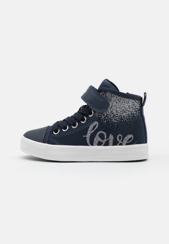 CIAK GIRL - Baskets montantes - navy