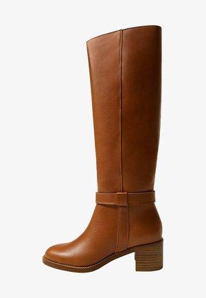 HYPE - Vysoká obuv - middenbruin