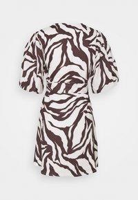 Faithfull the brand - GODIVA WRAP DRESS - Denní šaty - brown - 1