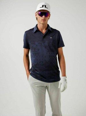 Polo shirt - sthlm melange blue