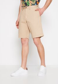 GANT - RELAXED - Shorts - dark khaki - 0