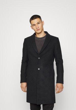 PEAK - Klasyczny płaszcz - black