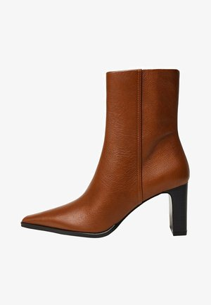 CELIA - Classic ankle boots - brown