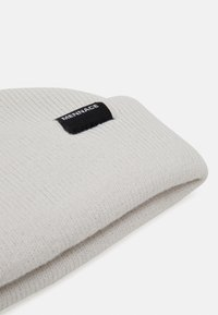 Mennace - MINI ROLL BEANIE WITH TAB - Berretto - off white - 3