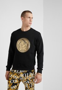 Versace Jeans Couture - FELPE UOMO - Sweatshirt - nero - 0