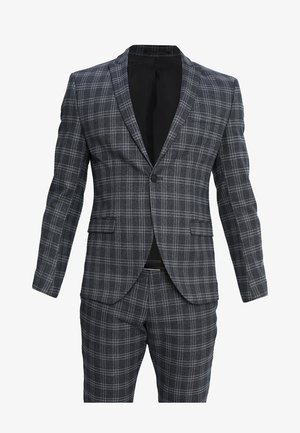 SHDZERO TADOTTO CHECK SUIT - Oblek - navy