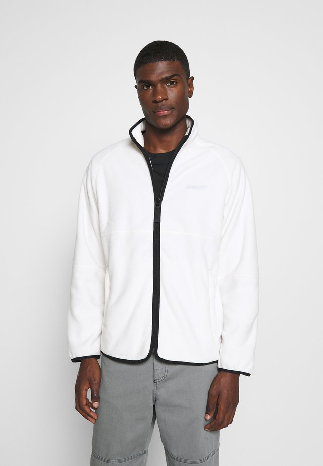 BEAUFORT JACKET - Giacca in pile - wax/grey