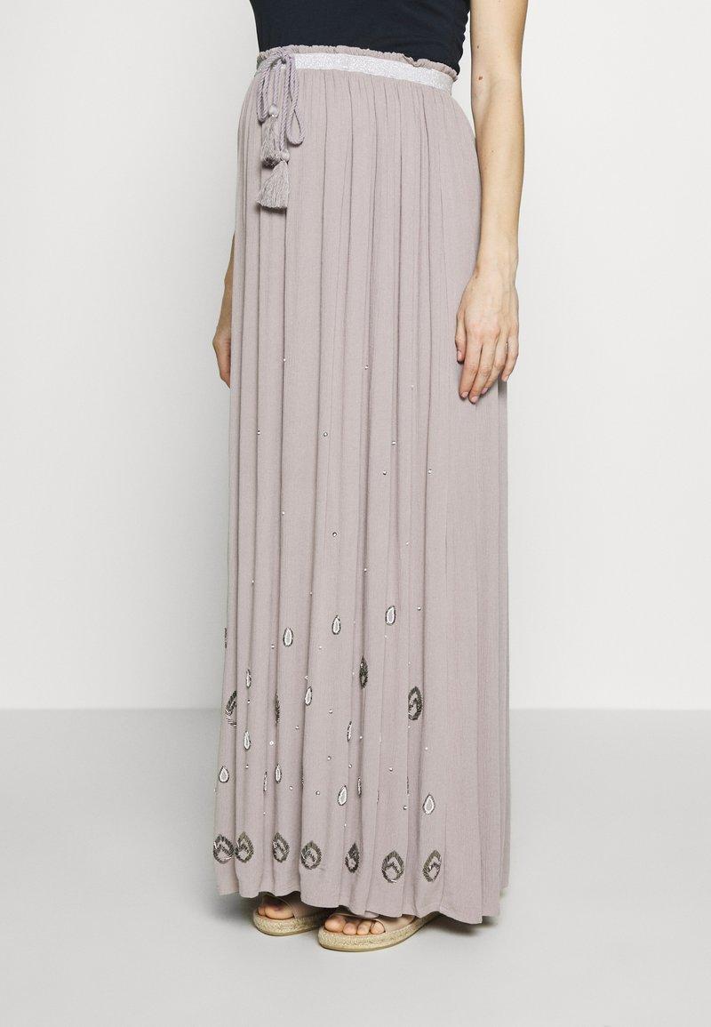 Mara Mea - Długa spódnica - light grey