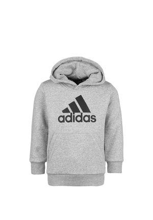 KIN - Hoodie - medium grey heather / black
