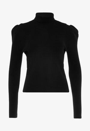 MAYA PUFF SLEEVE JUMPER - Sweter - black