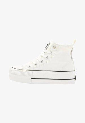 KAYA MID - High-top trainers - white