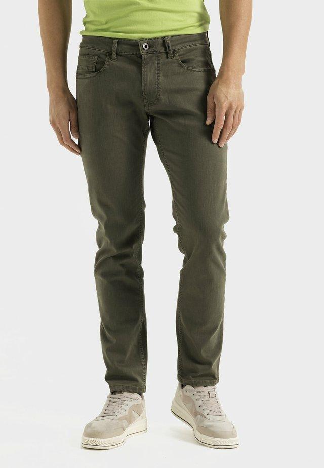 FLEXXXACTIVE - Slim fit jeans - mud