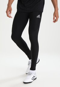 adidas Performance - ALPHASKIN SPORT CLIMAWARM LEGGING - Base layer - black - 1