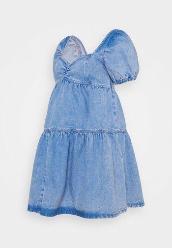 Denimové šaty - mid auth