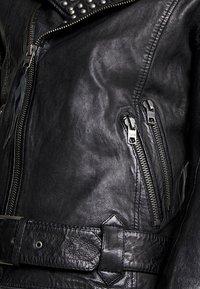 Tigha - ROYCE - Veste en cuir - black - 4