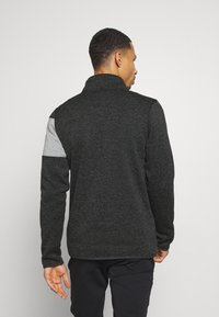 Icepeak - ALBERTON - Fleece jacket - black melange - 2