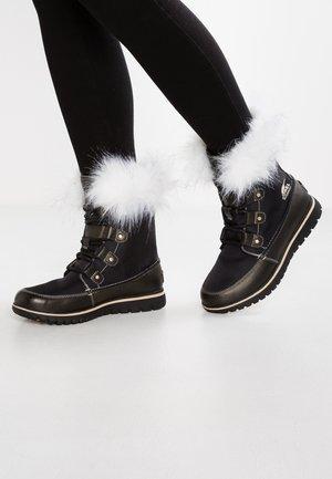 COZY JOAN X CELEBRATION - Bottines à lacets - black